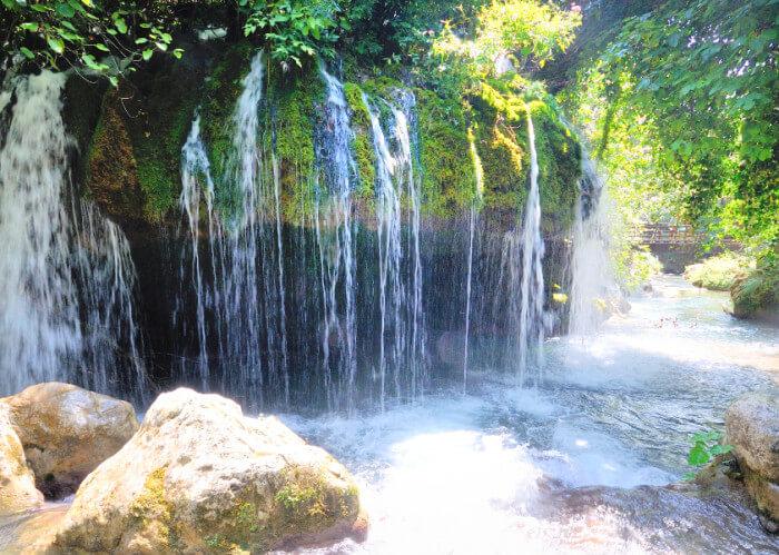 Escursioni Cascata Capelli di Venere