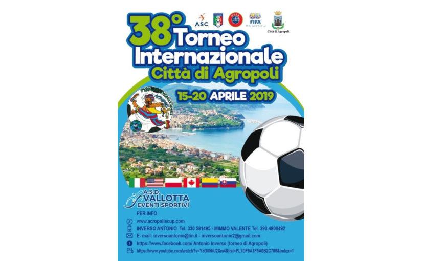 """Torneo di calcio """"Città di Agropoli"""" 2019"""