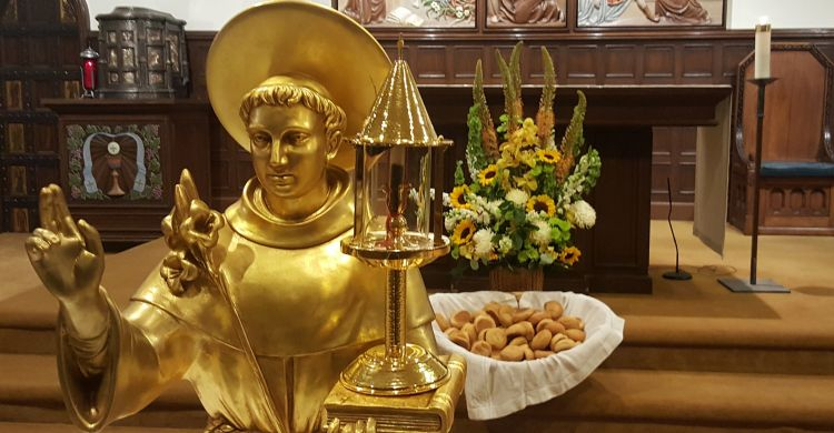 Le reliquie di Sant'Antonio e di San Francesco ad Agropoli